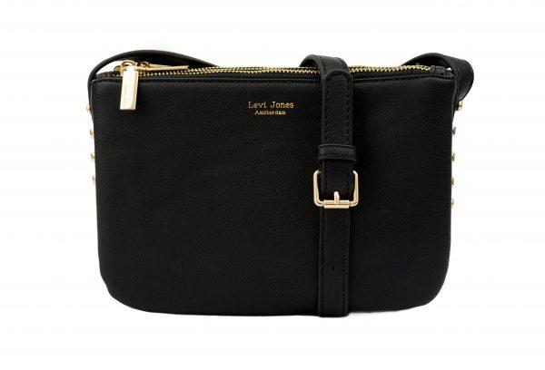 Levi Jones vegan leather handbags The Romane Gold