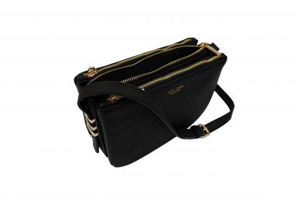 Levi Jones vegan leather handbag brand. The Romane Gold